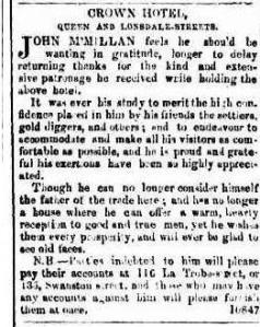 The Argus (Melbourne), Friday 8 October 1852, page 2