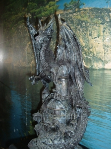 This statue symbolizes my committment to finishing my novel.