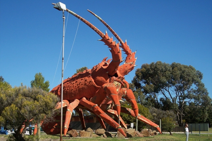 Harry the Lobster at Kingston S.E., South Australia