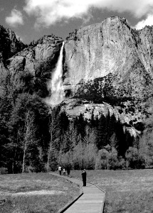 1. Yosemite Falls, Yosemite National Park; Copyright © 2015 Sally W. Donatello All Rights Reserved/Lens and Pens by Sally.