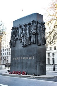 Memorial to the Women of World War II. Sculpted by John W. Mills. Whitehall, London. Photo: Su Leslie, 2015