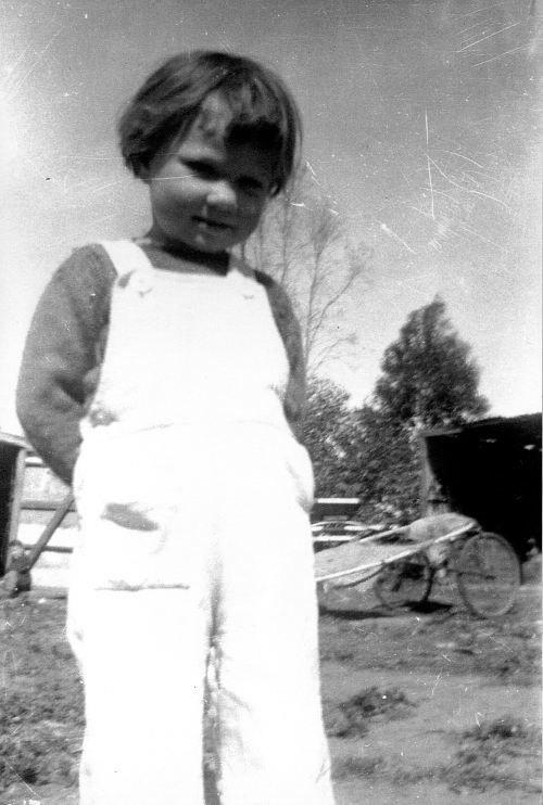 Christine, young
