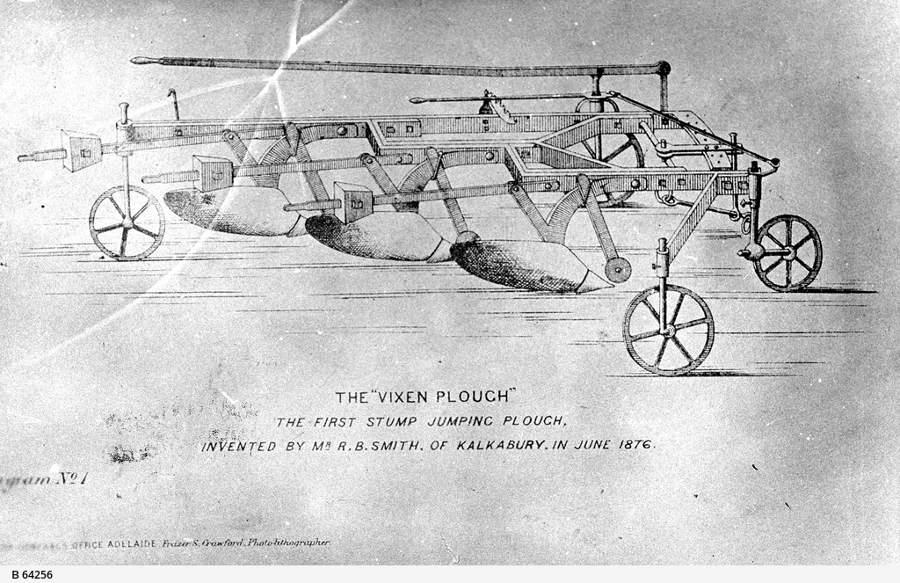 B-64256 SLV stump plough